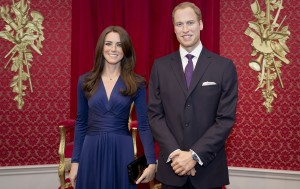 Kate-and-William-at-Madame-Tussauds